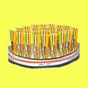 Barchetta con 24 tubetti di Pasta di Acciughe