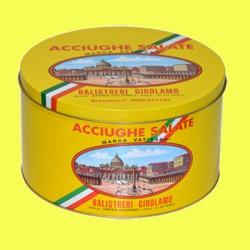 Latta di Acciughe Salate Siciliane (5kg) - Barra I
