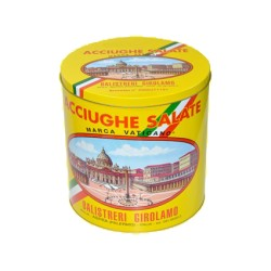 Acciughe Salate Siciliane (10kg) - Barra I