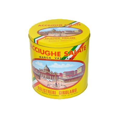 Acciughe Salate Siciliane (10kg) - Barra I